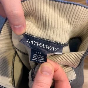 hathaway Sweaters - Heather Grey Hathaway 1/4 Zip Sweater (Size Large)